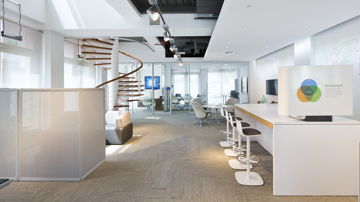 Steelcase WorkLife Centers are designed to illustrate how space can amplify the performance of individuals, teams and enterprises.
