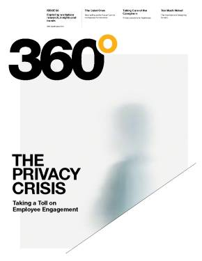 360 Magazine, Issue 68: The Privacy Crisis