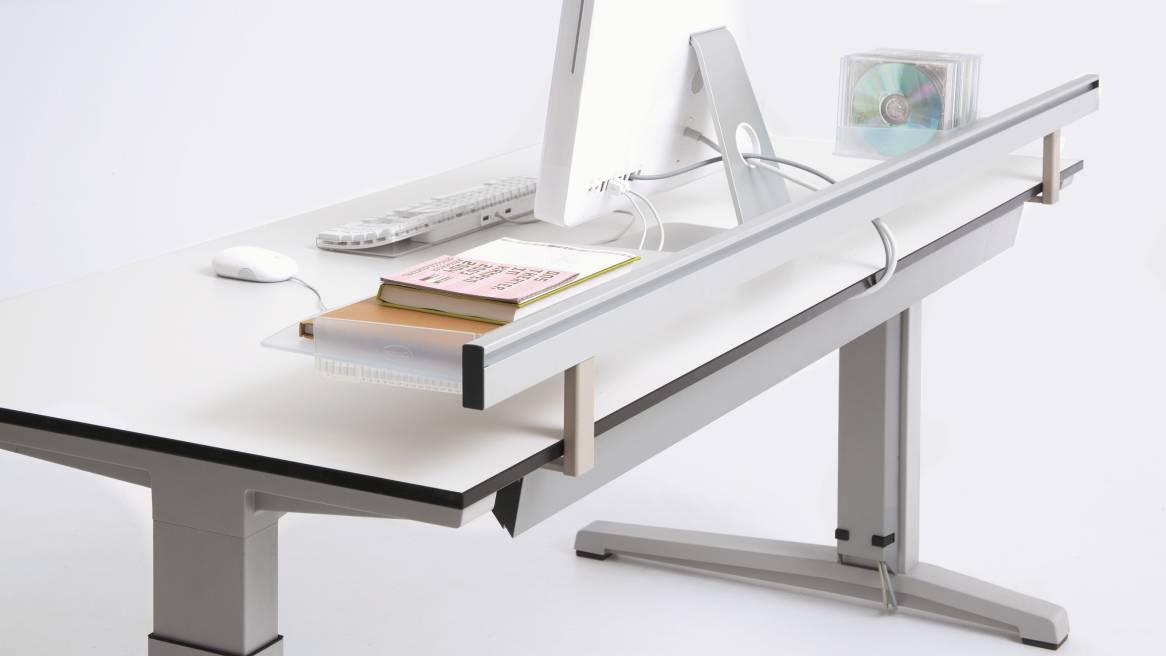 Activa Schreibtisch Systeme H 246 Henverstellbar