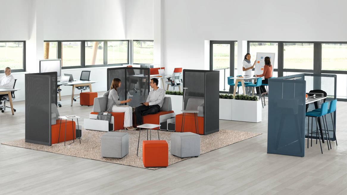 B free modulares tisch system lounge sitzm bel konferenz tische - Bequeme sitzmobel ...