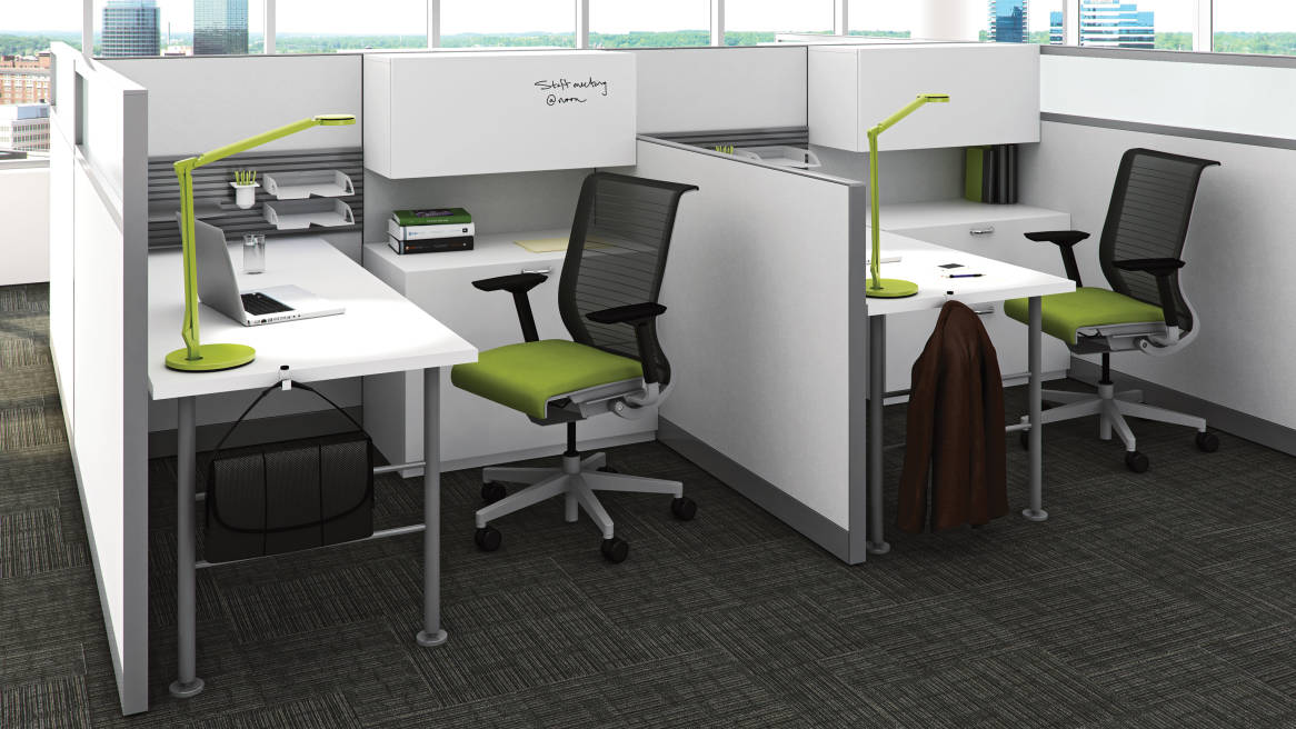 Kick Multi Functional Office Workstations Steelcase