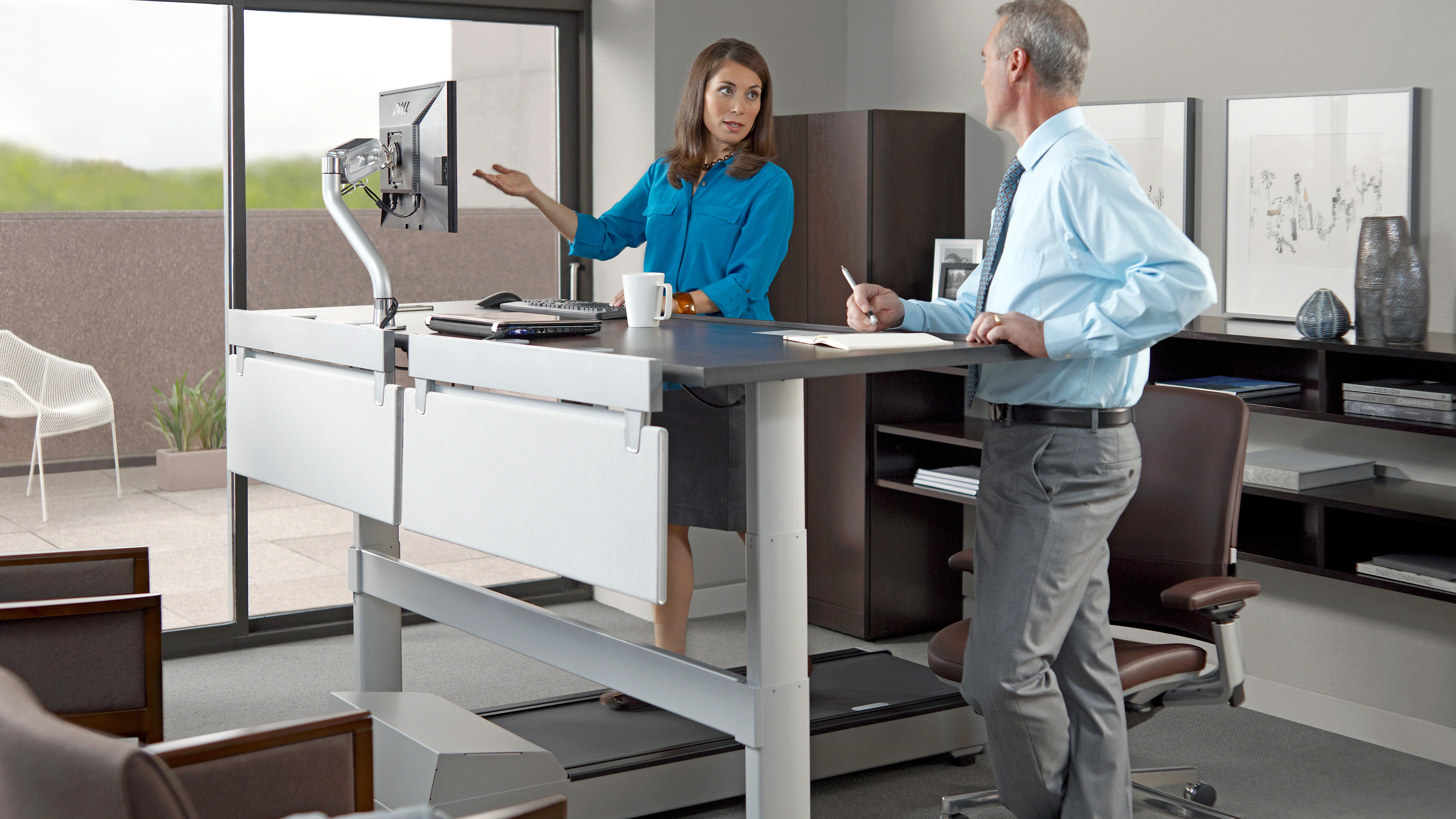 Walkstation Treadmill Desk For Office Wellbeing Steelcase