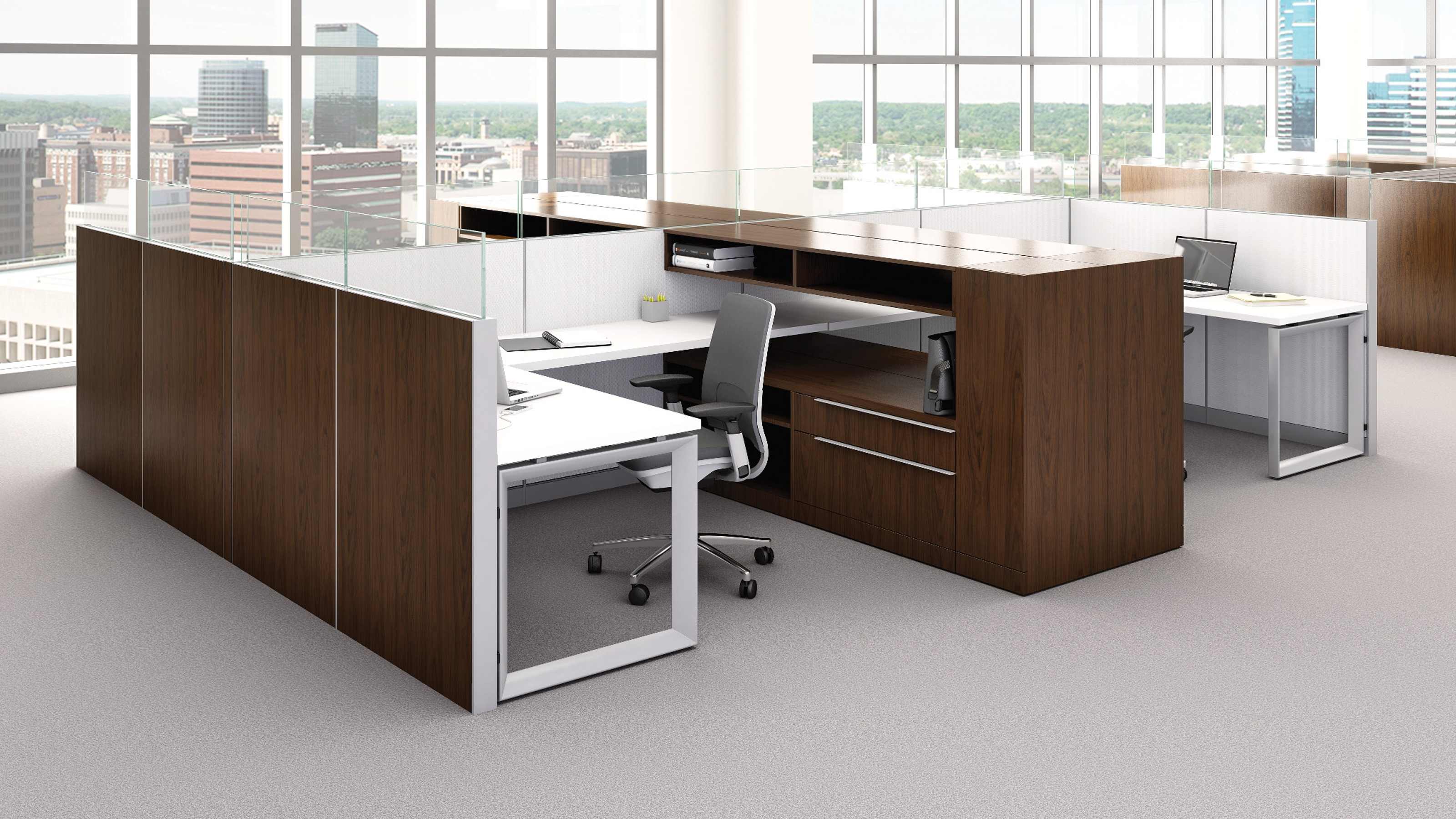 Montage office workstation panel systems steelcase for Office design help