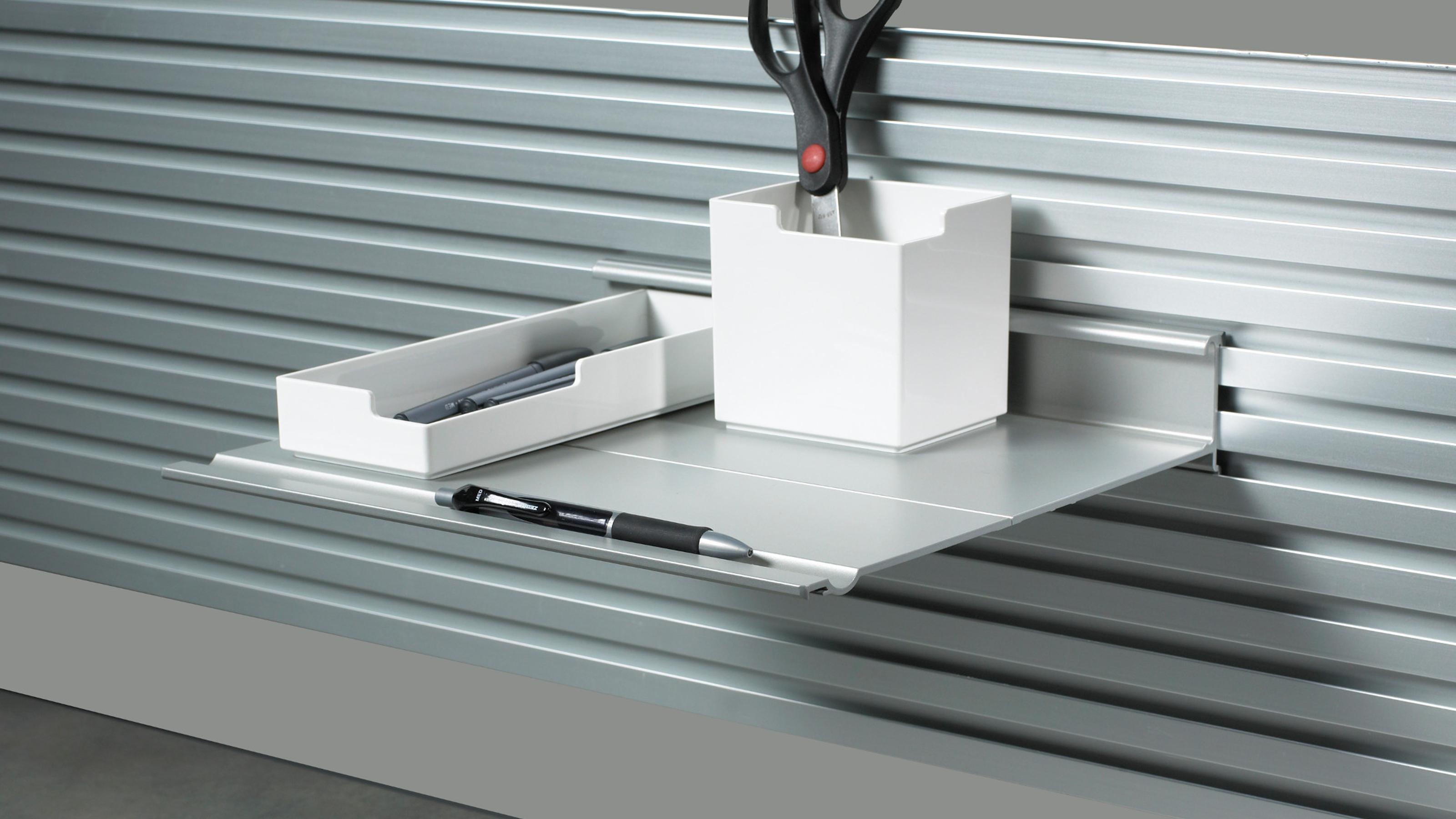 Slatwall Slatrail Shelves Steelcase