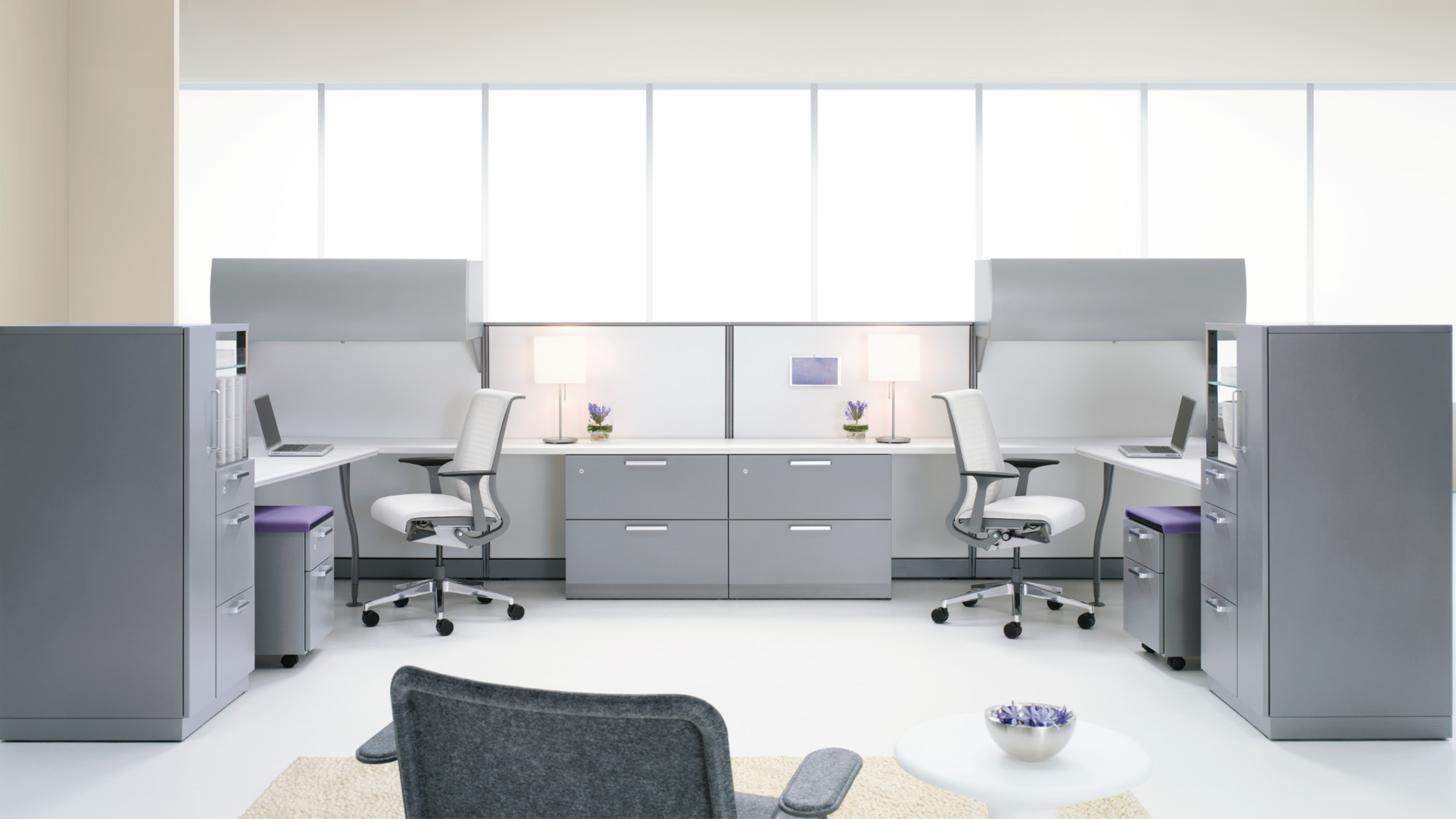 Avenir Office Desk System Workstations Steelcase