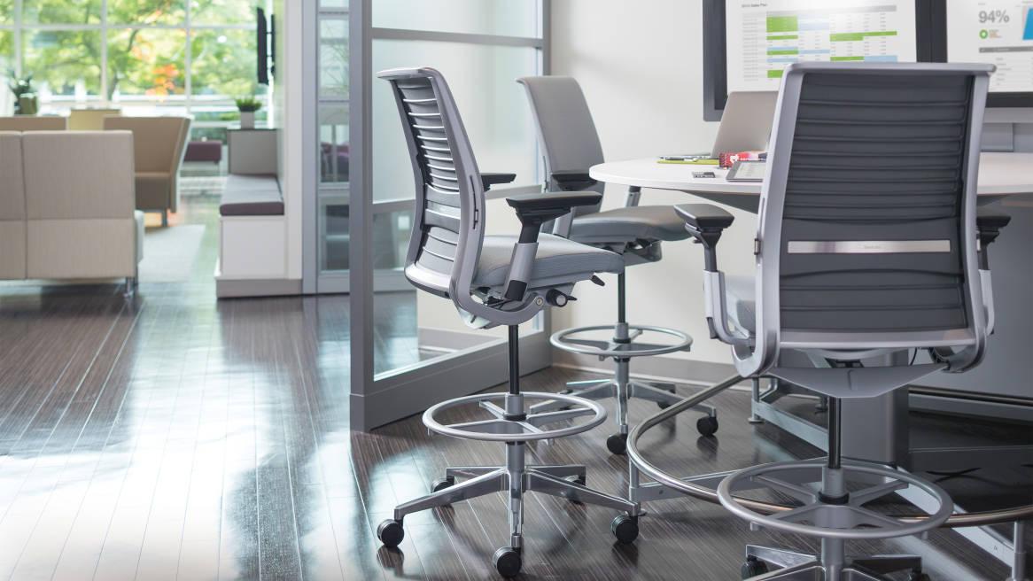 Think Ergonomic Adjustable Office Chair Steelcase