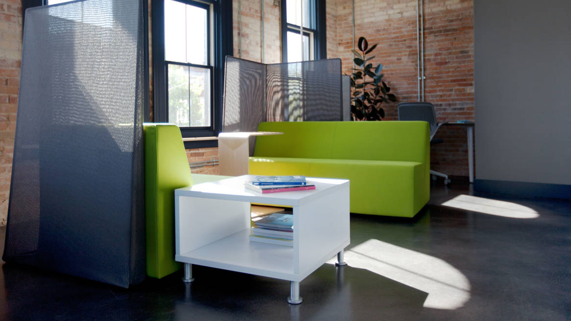 Turnstone Jenny Side and Coffee Table Steelcase