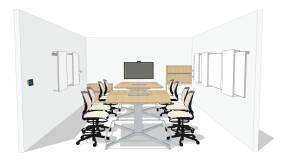 roomwizard h system share it mediascape cobiidée d'aménagement