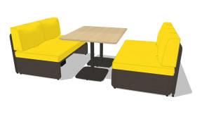 montara650 tables montara650 sièges lagunitas westsideidée d'aménagement