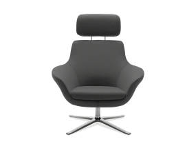 Front-View of Bob Lounge Chair
