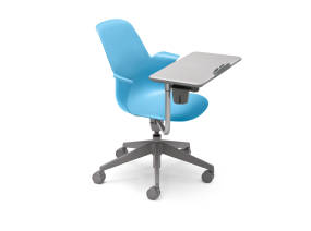 Node Chair Five Star Base With Worksurface