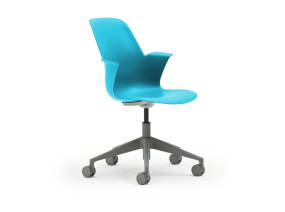 Node Chair Five Star Base Without Worksurface