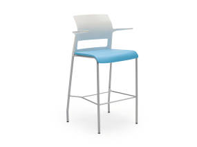 Move stool with arms