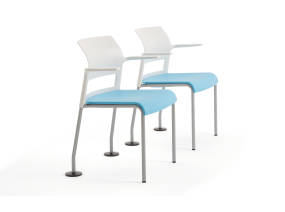 Move stackable chairs with Wall savers