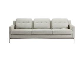 Grey Millbrae Lifestyle Lounge Couch on white