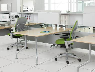 Leap office chair by Steelcase at c:scape office workstation