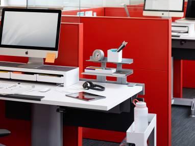 SOTO monitor bridge on desk