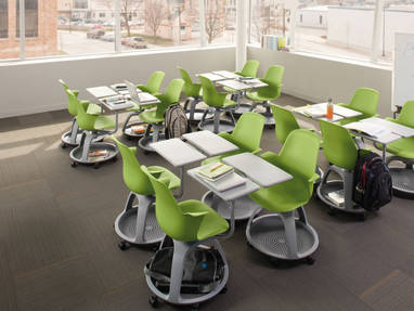 Node Classroom Chairs For Active Learning Steelcase
