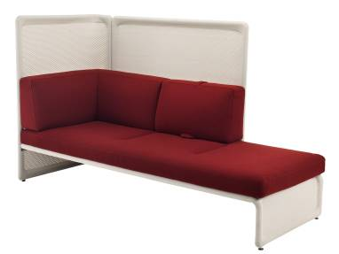 White and Red Lagunitas Seating