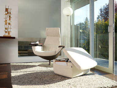 The Massaud Collection Lounge and Ottoman