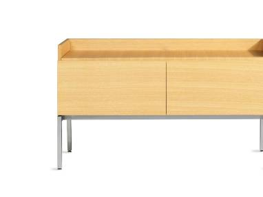 Denizen Credenza with a clear maple finish