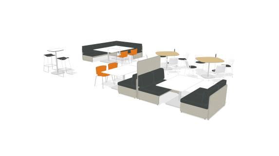 enea lottus table lagunitas table lagunitas lounge seating nooi by wiesner hager planning idea