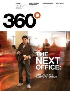 360 Magazine cover