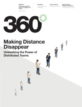 360 Magazine, Issue 69 - Making Distance Disappear 15-0006242