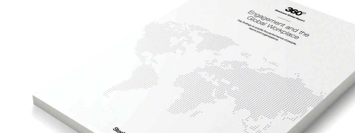 Engagement and the Global Workplace report Cover