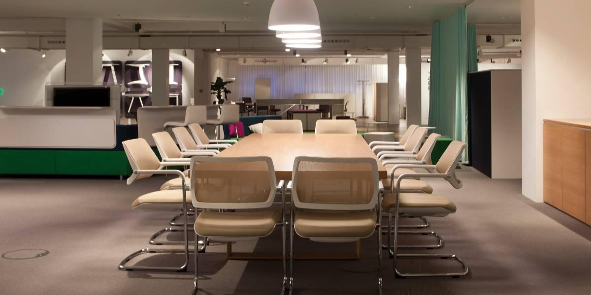 El color en la oficina steelcase for Modelos de oficinas modernas