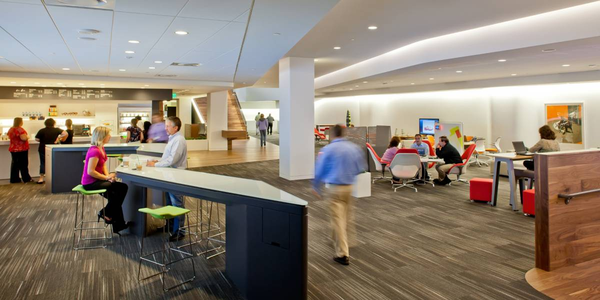 cool interior design office cool innovative design workcaf office cafeteria ideas breakout area designs steelcase