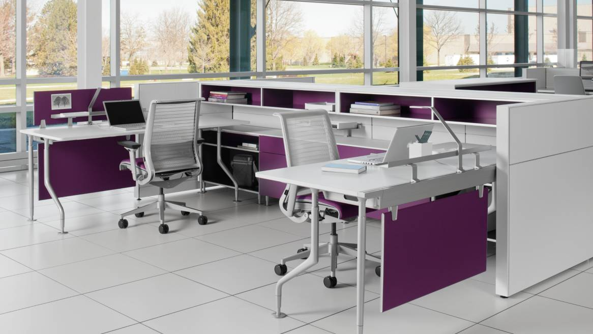 c:scape Office Workstations & Desk Systems - Steelcase