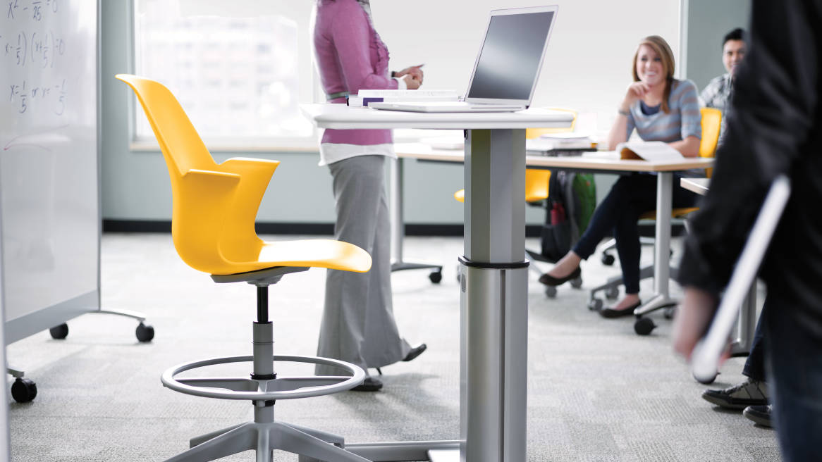 Node desk chairs classroom furniture steelcase for Tables and desks in the classroom