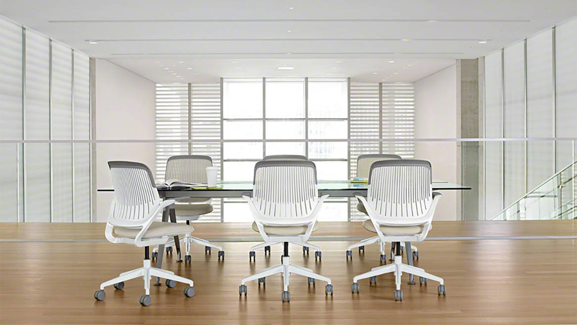 Cobi Chairs in a meeting room