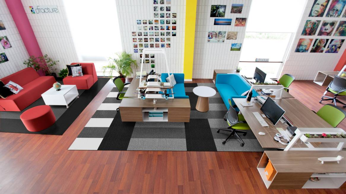 Modern office furniture by turnstone steelcase for Interior design resources