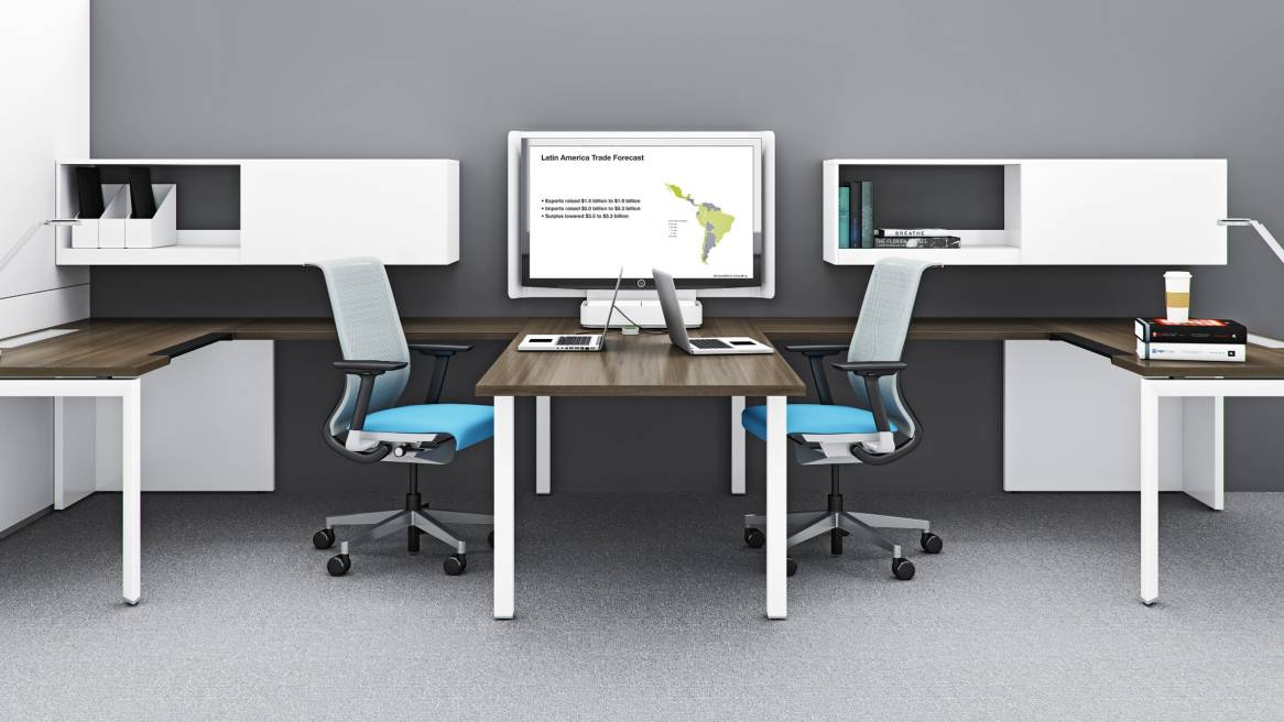 Steelcase Modular Office Furniture - Interior Design