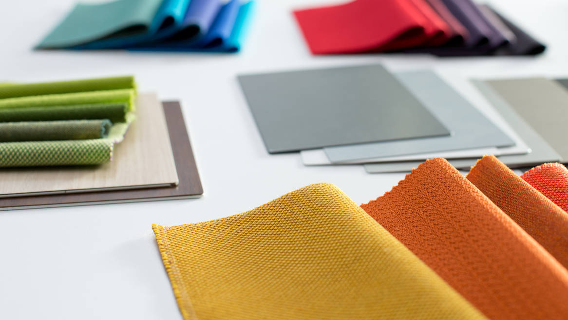Steelcase Global Palette of textiles