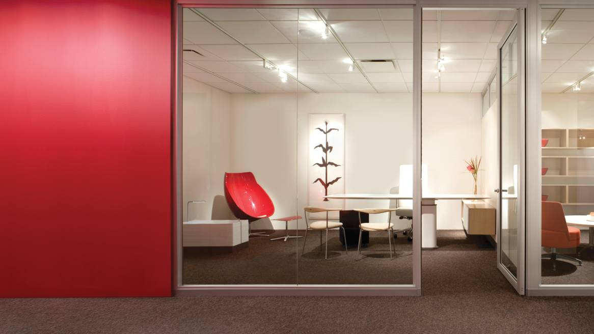 Privacy walls movable office walls steelcase for Office wall interior