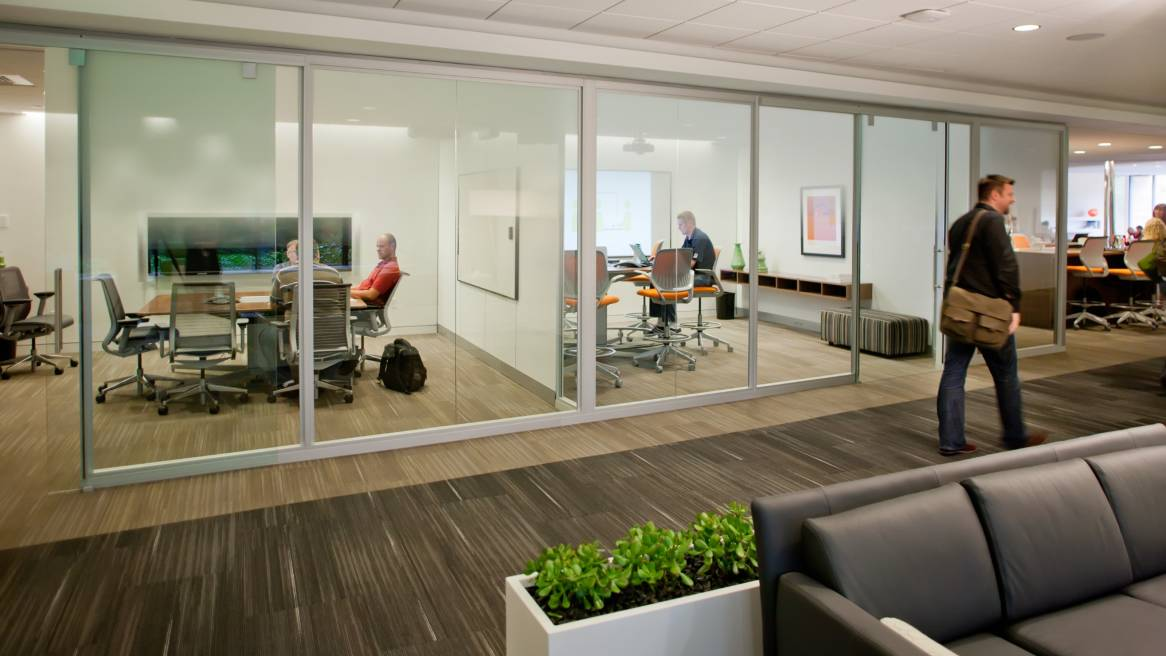 privacy walls & movable office walls - steelcase