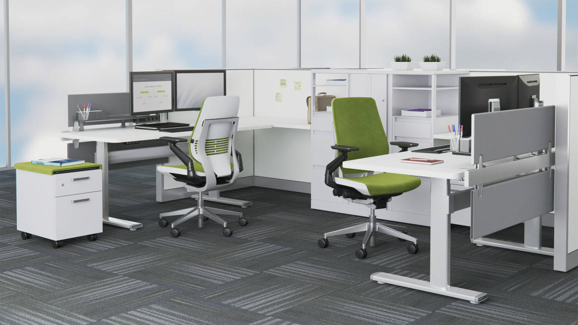 series 7 electric adjustable tables - steelcase