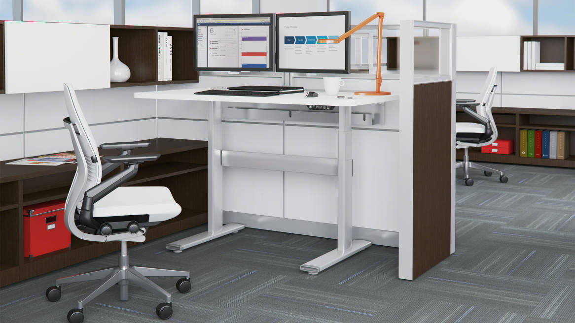 Series 7 Electric Adjustable Tables Steelcase