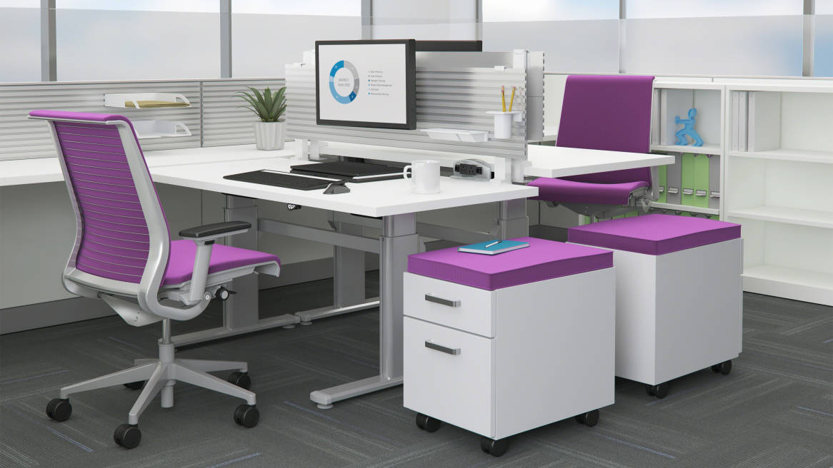 Series 5 Height Adjule Desk