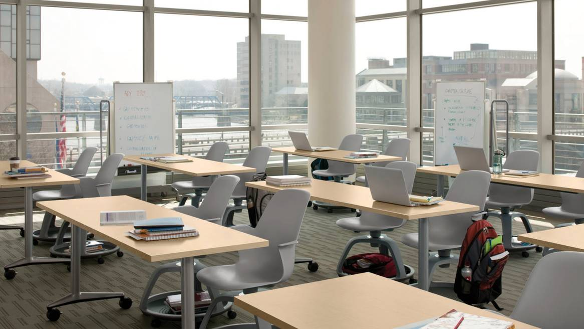 Wie die raumgestaltung den lernerfolg beeinflusst steelcase for Raumgestaltung ogs
