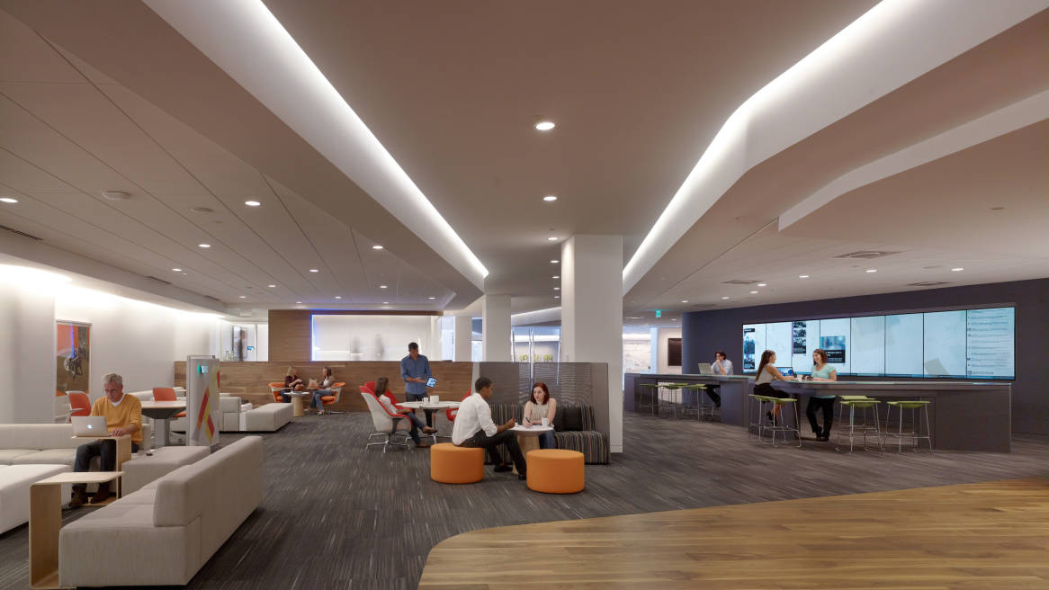 Office Cafeteria Ideas & Breakout Area Designs | Steelcase