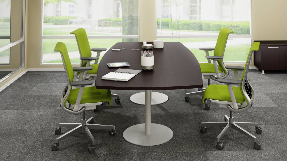 groupwork tables & visual worktools - steelcase