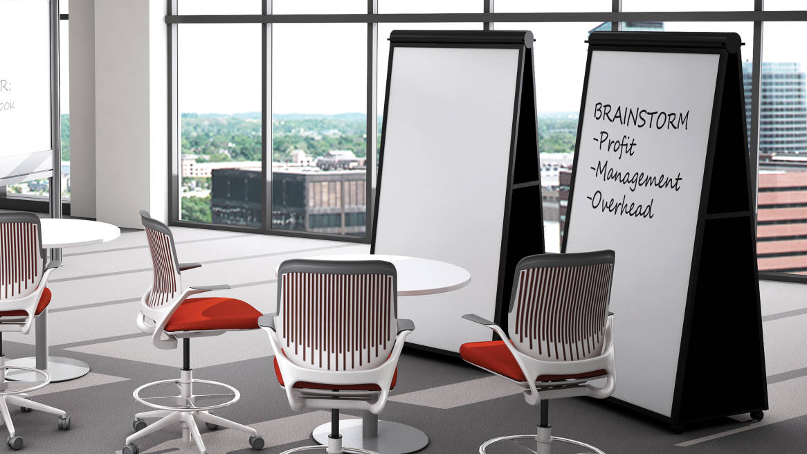 Groupwork Tables Visual Worktools Steelcase - Semi circle conference table