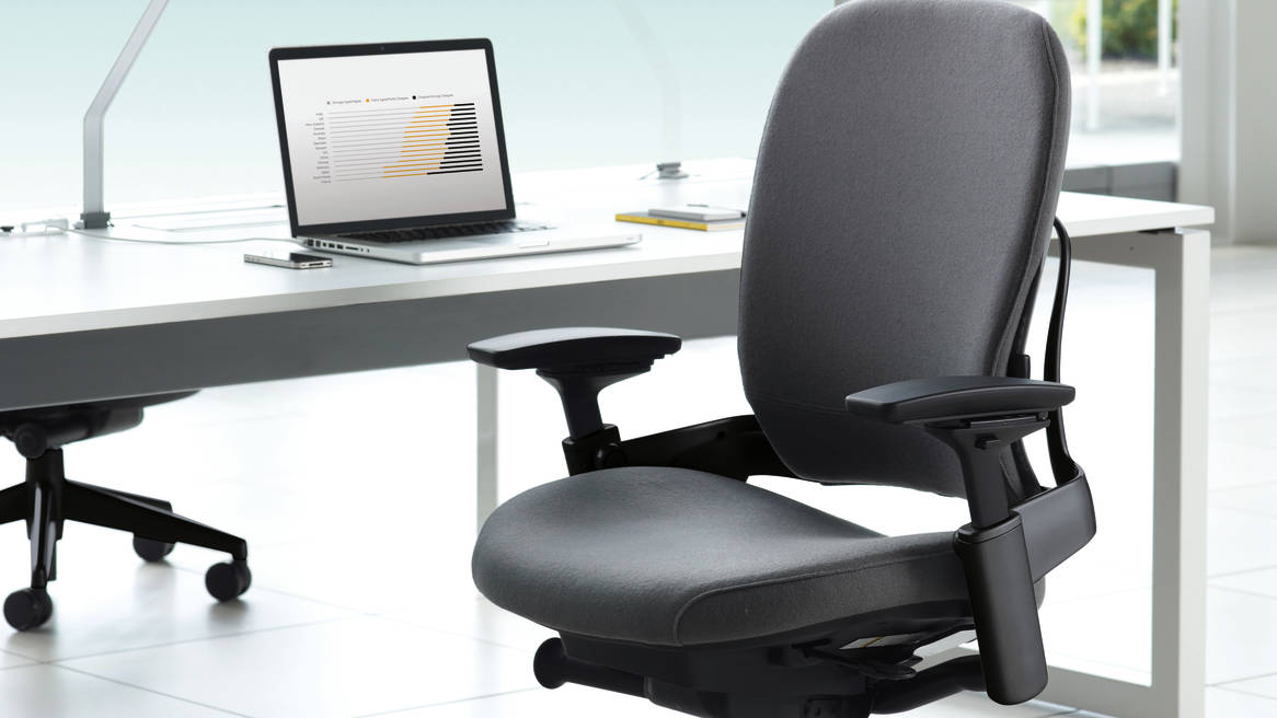 Leap Chair By Steelcase leap ergonomic & adjustable office chair - steelcase