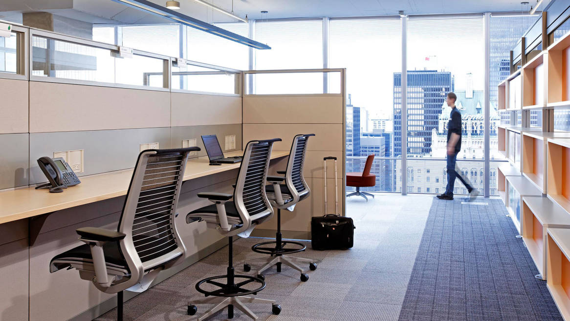 Merging Operations Telecomm Combines Fifteen Offices Into New Collaborative Workplace