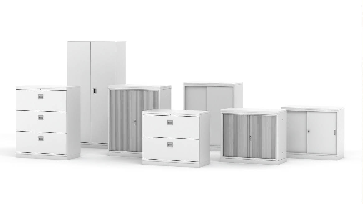 Datum C2 Office Storage & Lateral File Cabinet - Steelcase