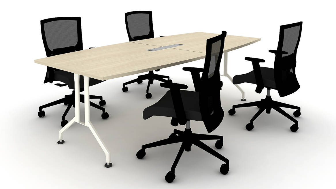 Ultra V Conference Table Desk Solutions Steelcase - Desk with meeting table